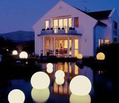 Floating Orb Lights